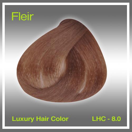 FLEIR - LHC 8.0 -  Βαφή μαλλιών με λάδι Argan 100 ml
