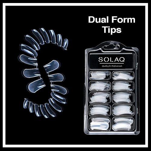 SOLAQ - Dual form tips 100 τεμ.