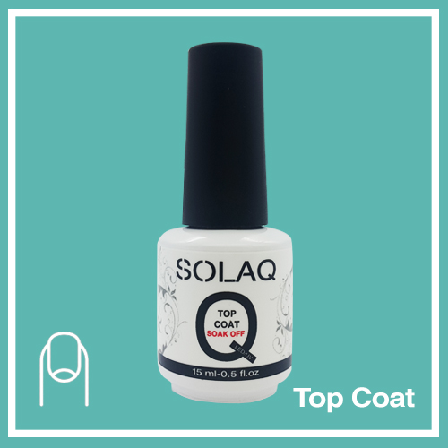 SOLAQ - Polish Gel Top Coat 15ml