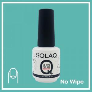 SOLAQ - Polish Gel Top Coat Non Wipe 15ml