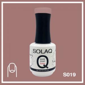 SOLAQ - SB019 - Polish Gel Base Coat with Colour 15ml