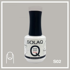 SOLAQ - SB02 - Polish Gel Base Coat with Colour 15ml