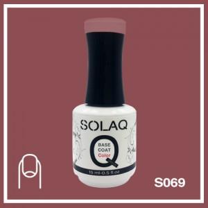 SOLAQ - SB069 - Polish Gel Base Coat with Colour 15ml