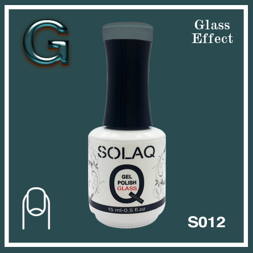 SOLAQ - SG012 - Polish Gel Glass Effect 15ml