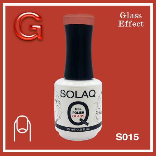 SOLAQ - SG015 - Polish Gel Glass Effect 15ml