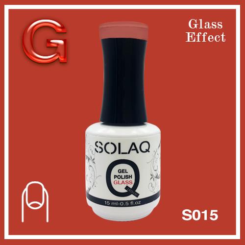 SOLAQ - SG015 - Polish Gel Glass Effect 15ml