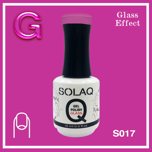 SOLAQ - SG017 - Polish Gel Glass Effect 15ml