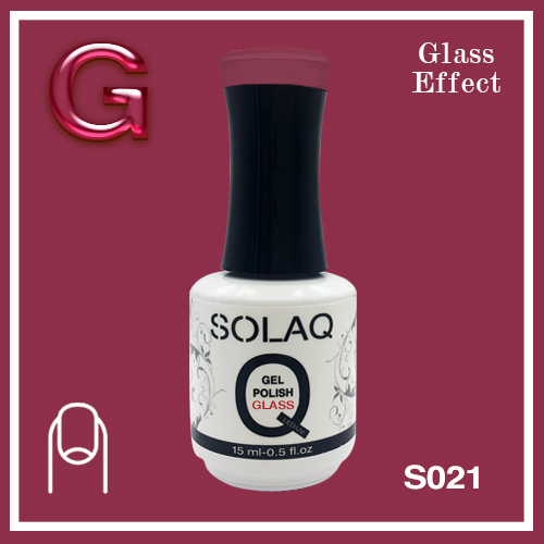 SOLAQ - SG021 - Polish Gel Glass Effect 15ml