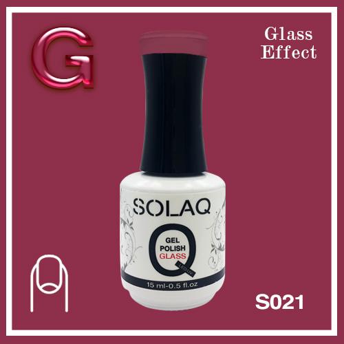 SOLAQ - SG021 - Polish Gel Glass Effect 15ml