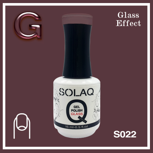 SOLAQ - SG022 - Polish Gel Glass Effect 15ml