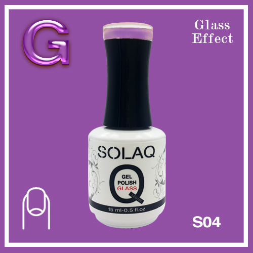 SOLAQ - SG04 - Polish Gel Glass Effect 15ml