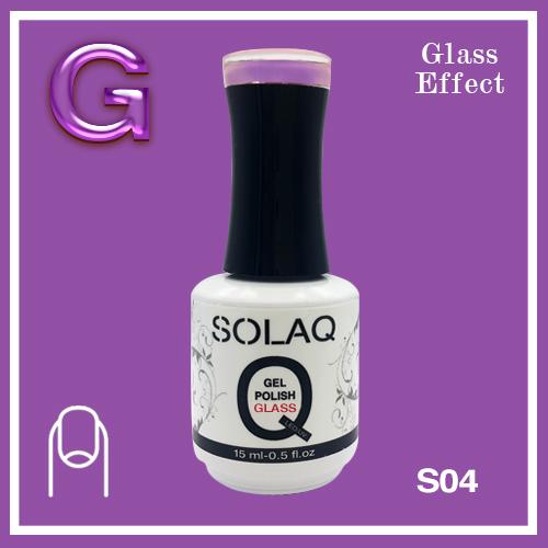 SOLAQ - SG04 - Polish Gel Glass Effect 15ml