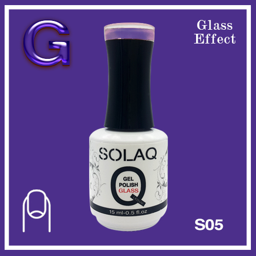 SOLAQ - SG05 - Polish Gel Glass Effect 15ml
