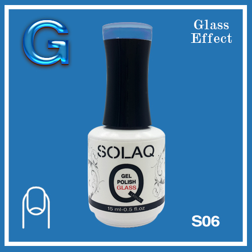 SOLAQ - SG06 - Polish Gel Glass Effect 15ml
