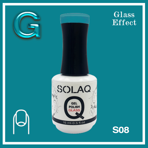 SOLAQ - SG08 - Polish Gel Glass Effect 15ml