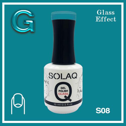 SOLAQ - SG08 - Polish Gel Glass Effect 15ml