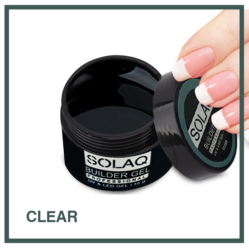 SOLAQ - Builder Gel Clear - 15gr